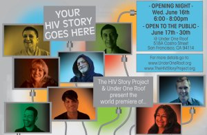 Project in San Francsisco to gather people's HIV stories from the last 30 years