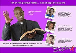 I'm a HIV positive pastor - it could happen to anyone