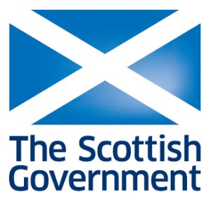 Scottish government and flag