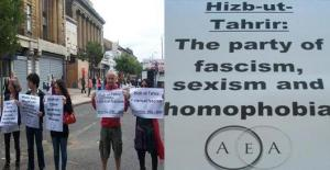 protest against homophobic Hizb ut-Tahrir