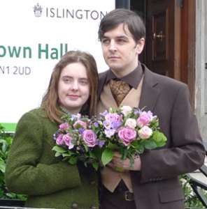 Tom Freeman and Katherine Boyle were refused a Civil Partnerships at Islington's regisrty office