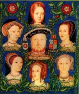 Marriage in Church of England history exhibit 1- Henry VIII and his wives