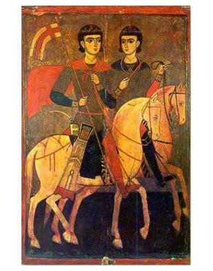 Sergius & Bacchus, the best known of the queer saints & martyrs
