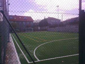 Nuevo campo de Futbito en S.Pelayo de Navia