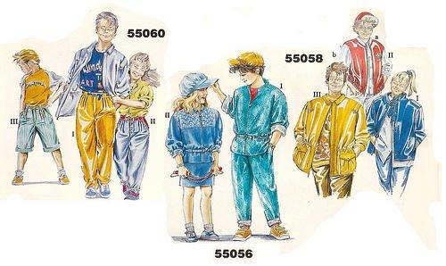 carnaval estilos años 80