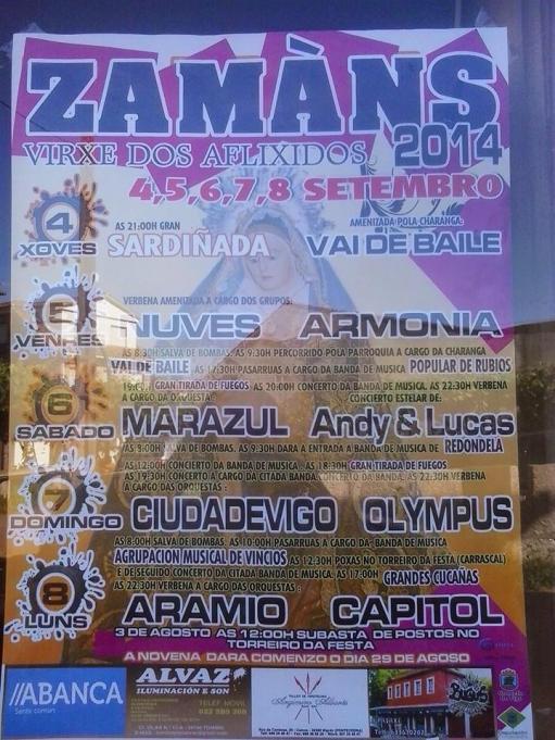 Fiesta de Zamáns 2014