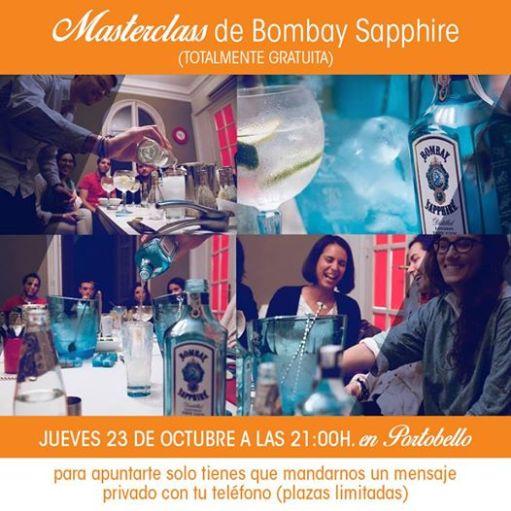 Degustación gratuita de Bombay Sapphire