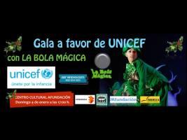 gala a favor de unicef