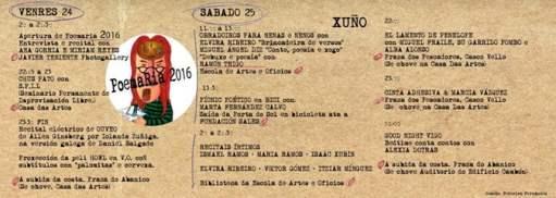 Programa Poemaria Vigo