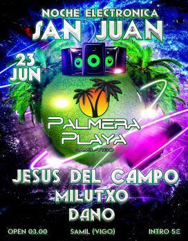 Fiesta de San Juan Palmera Playa