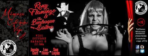 Rony Flamingo y The Burlesque Sisters