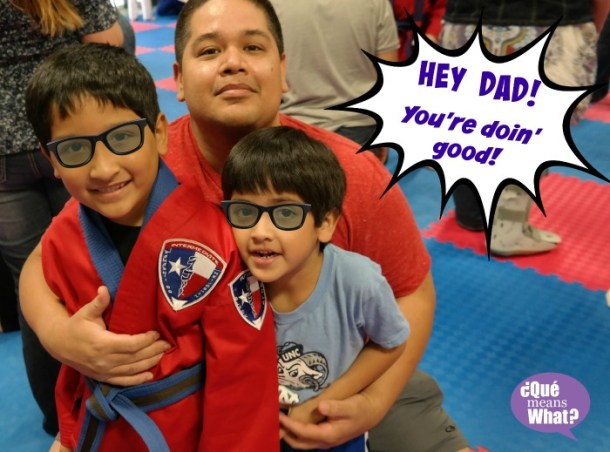 Fathers Day: Hey Dad, You're Doing Good! #DoinGood QueMeansWhat.com