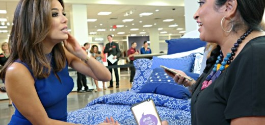 Eva Longoria Interview at JCPenney