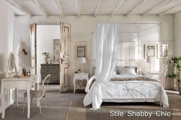 Camera da letto stile shabby chic questioni di arredamento - Camera da letto stile shabby chic ...