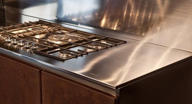 Piano cucina inox 004 questioni di arredamento - Piano cucina acciaio inox ...