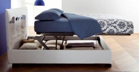Scegliere il letto guida completa questioni di arredamento - Materasso per letto contenitore ...