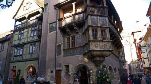 Casa Pfister, considerada la casa más bonita de Colmar