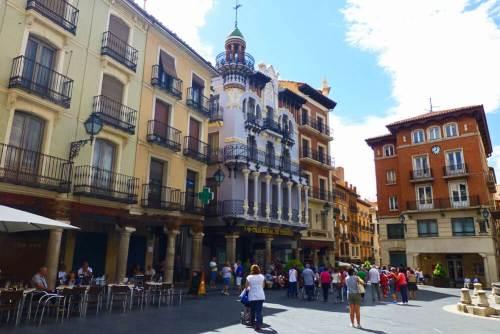 Casa El Torico en la Plaza del Torico de Teruel