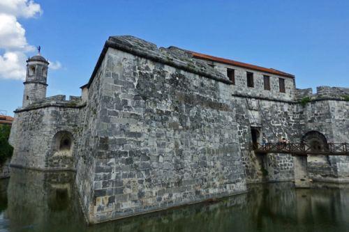 Castillo de la Real Fuerza, el edificio principal de la Plaza de Armas de La Habana