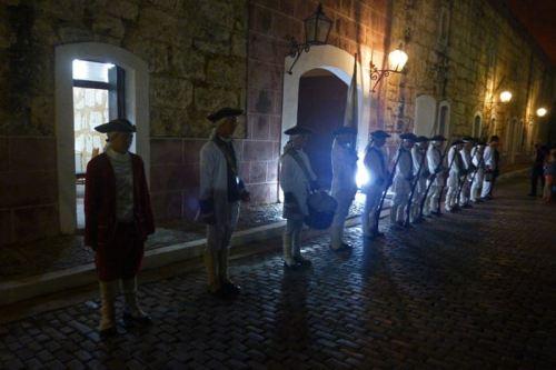 Ceremonia del Cañonazo en la Fortaleza de San Carlos de la Cabaña
