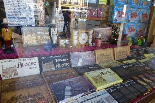 Chocolates de Astorga, qué comer en Astorga
