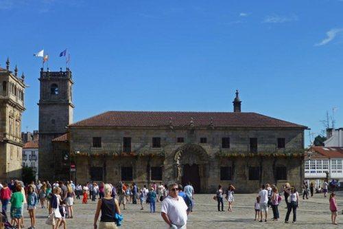 Colegio de San Jerónimo en la Plaza del Obradoiro