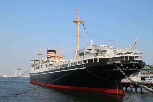 Hikawa Maru, antiguo crucero de lujo reutilizado como museo