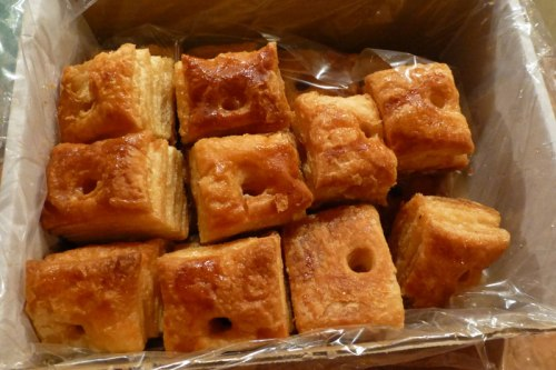 Hojaldres de Astorga, comida típica de Astorga