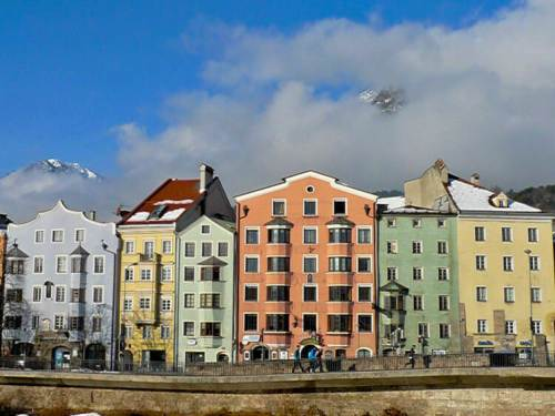 Casco histórico de Innsbruck, capital del Tirol