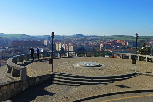 Mirador del Castillo, ofrece las mejores vistas panorámicas de Burgos