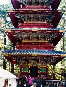 Pagoda Gojunoto en Nikko
