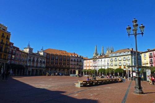Plaza Mayor de Burgos, el centro de la vida social de la ciudad
