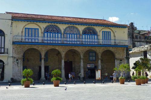 Palacio del Conde de Jaruco en la Plaza Vieja de La Habana