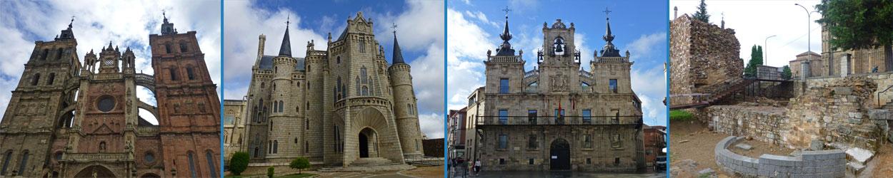 Guía turística con toda la información necesaria para visitar Astorga