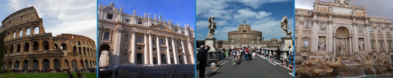 Guía turística con toda la información necesaria para visitar Roma