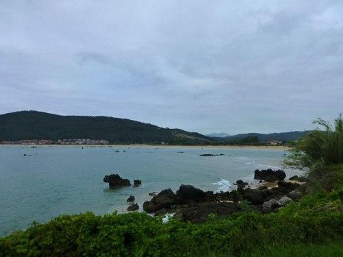 Playa de Trengadín desde la Ruta de la Costa