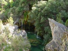 Saltos de agua en el Parque Natural del Alto Tajo