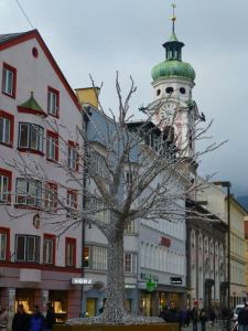 Iglesia del Hospital de Innsbruck (Spitalskirche)