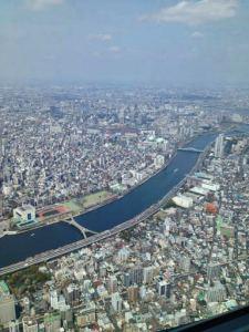 Vistas desde Tokyo Skytree