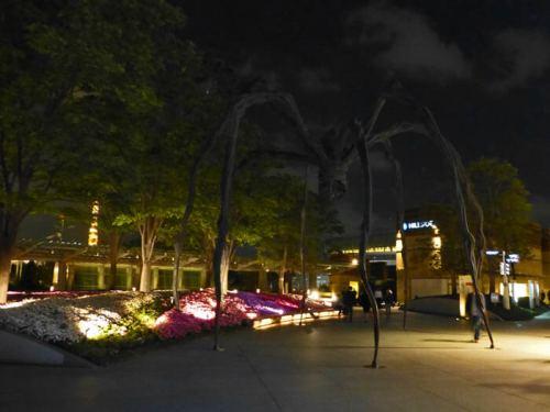 Araña de Louise Bourgeois en Roppongi
