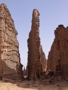 Formaciones rocosas del Tassili