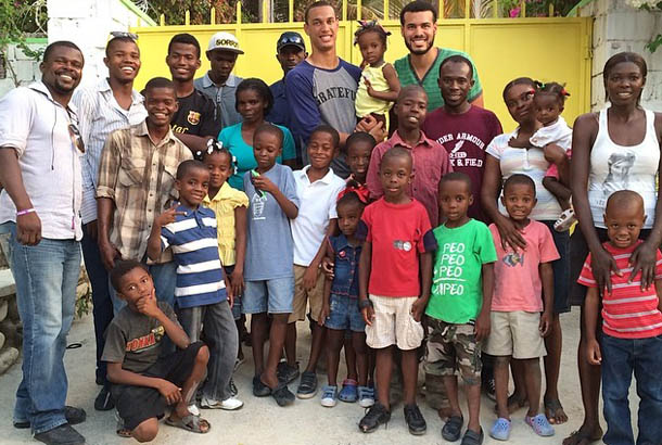 David Nelson's Foundation I'm Me is making a difference in Haiti.