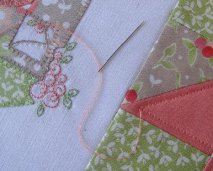 tip for finishing machine quilting