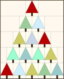 Modern Christmas Tree QAL