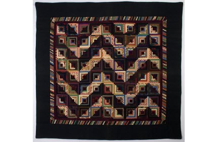 Antique Streak of Lightening quilt