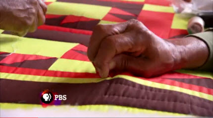 Craft in America Industry features GeesBend Quilters