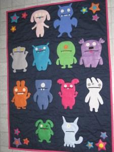uglydoll quilt