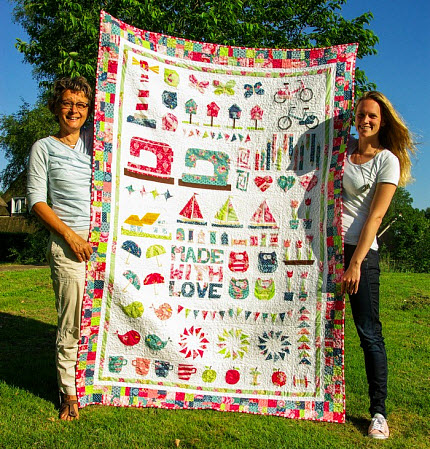 ThingsWeLoveQuiltForMom_Made by IreneSugaridoo