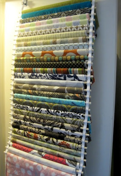 10 fabric organizing ideas quilting for Fabric storage