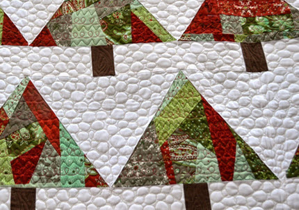 Christmas in July wallhanging Happy Quilting